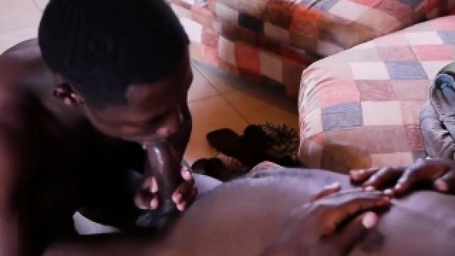 Black Africans Max and Chris Bareback