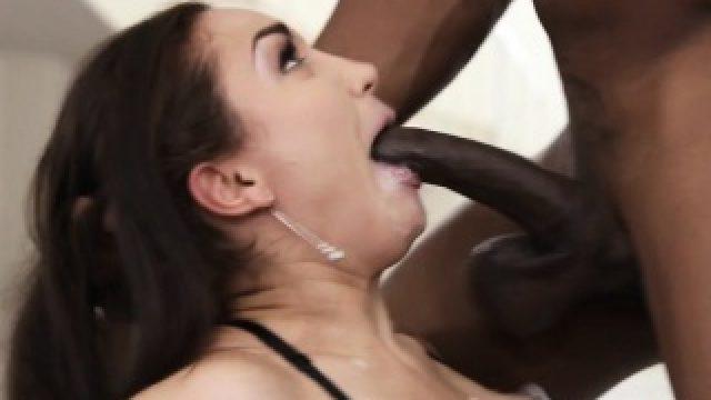 Gabriella Paltrova gets faced fucked by BBC