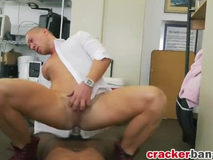 Good looking big cock dude stud doggy by BBC