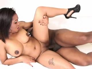 Big ass babe loves his BBC