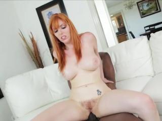 Charming redhead Lauren bangs Lexs bbc