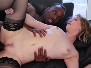 Gal gets lustful about getting nasty bbc in her tiny pussy