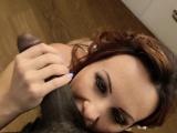 Maids ass jizzed by bbc