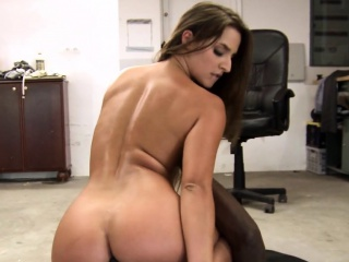 Adorable euro assfucked deeply by bbc