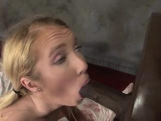 Babe enjoys sucking his hard BBC