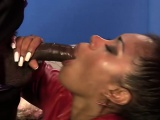 Ebony beauty is thirsty for his BBC