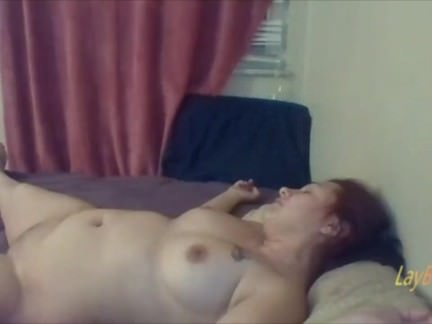 cheating BBW wife fucked by BBC and dildo