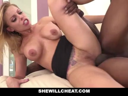 SheWillCheat – Slut Wife Britney Amber fucks famous football players BBC