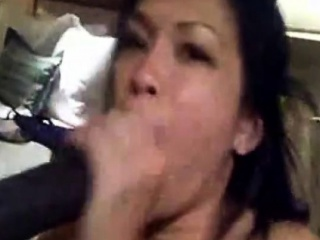 Tasty asian knows how to handly his bbc