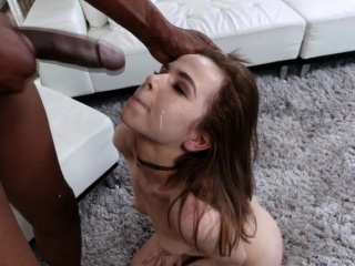 Horny Petite Teen Alina Wests first time with a BBC
