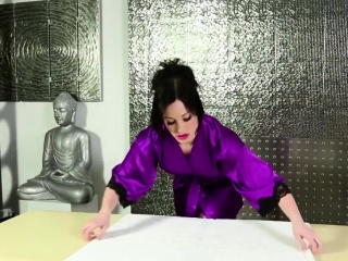 Sexy masseuse jerks bbc