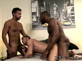 Hunk slammed with bbcs