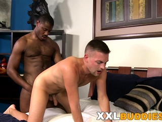 Dudes ass banged with bbc